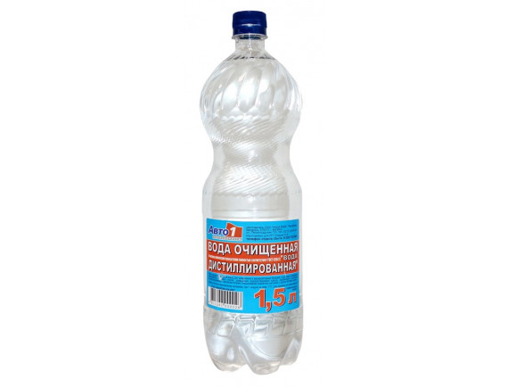 Вода дистиллированная АВТО1 Авто-1 1,5л