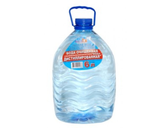 Вода дистиллированная АВТО1 Авто-1 6л
