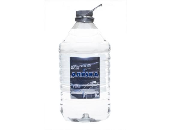 Вода дистиллированная АЛЯСКА 5535