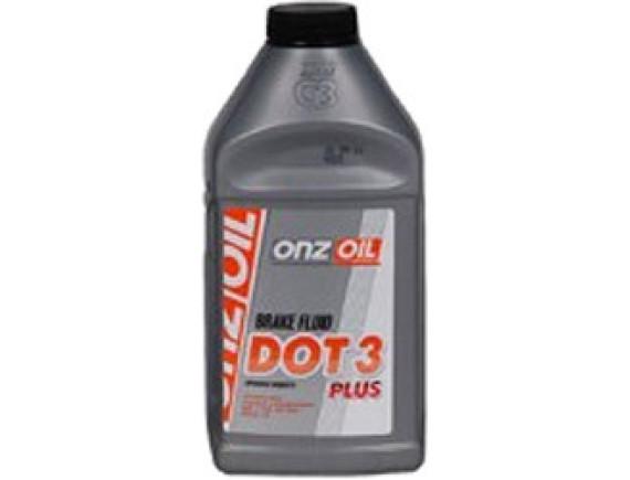 Тормозная жидкость ONZOIL ONZOIL ДОТ-3 PLUS 810 г