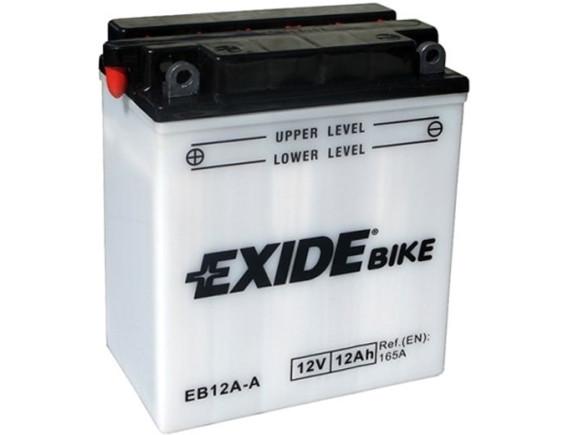Мотоциклетный аккумулятор Exide EB12A-A (12 А·ч)