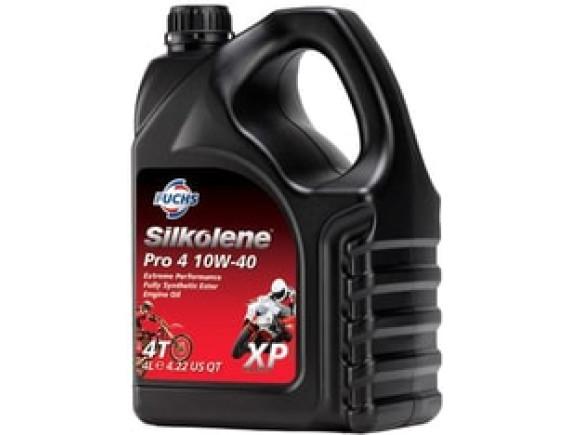 Моторное масло Fuchs Silkolene PRO 4 XP 10W-40 4л