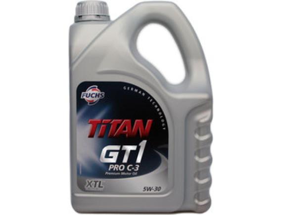 Моторное масло Fuchs Titan GT1 Pro C-3 5W-30 4л