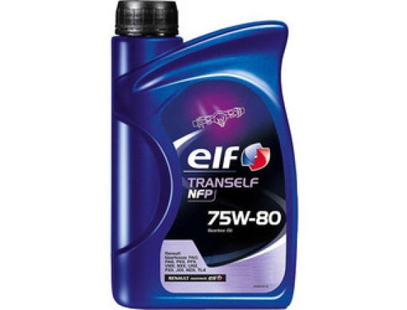 Трансмиссионное масло Elf Tranself NFP 75W-80 0.5л