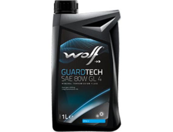 Трансмиссионное масло Wolf GuardTech SAE 80W GL 4 1л