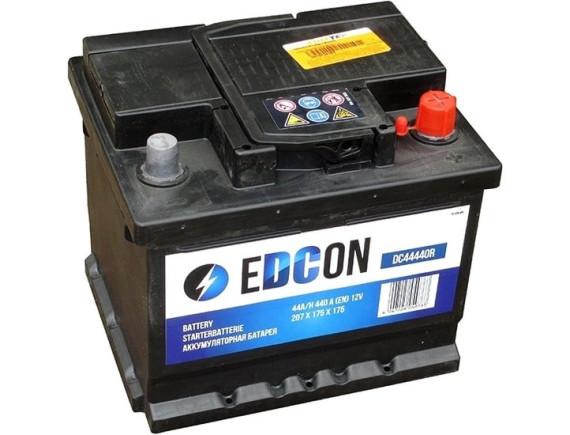 Автомобильный аккумулятор EDCON DC44440R (44 А·ч)